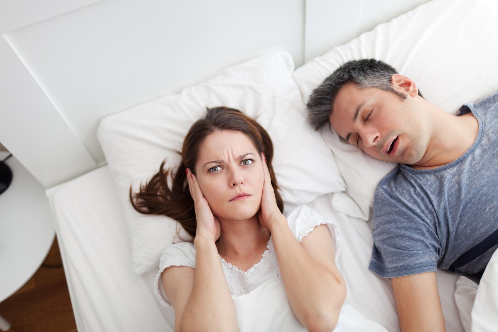 les ronflements apnées et les troubles du sommeil